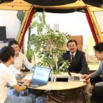 Snow Peakのテントをオフィスに入れてみた感想は?